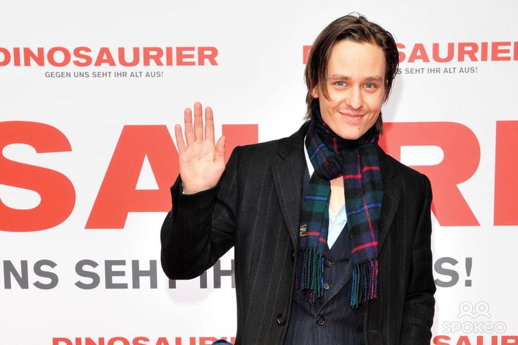 Tom Schilling at the premiere of 'Dinosaurier' at CineStar Kino in der Kulturbrauerei movie theater.