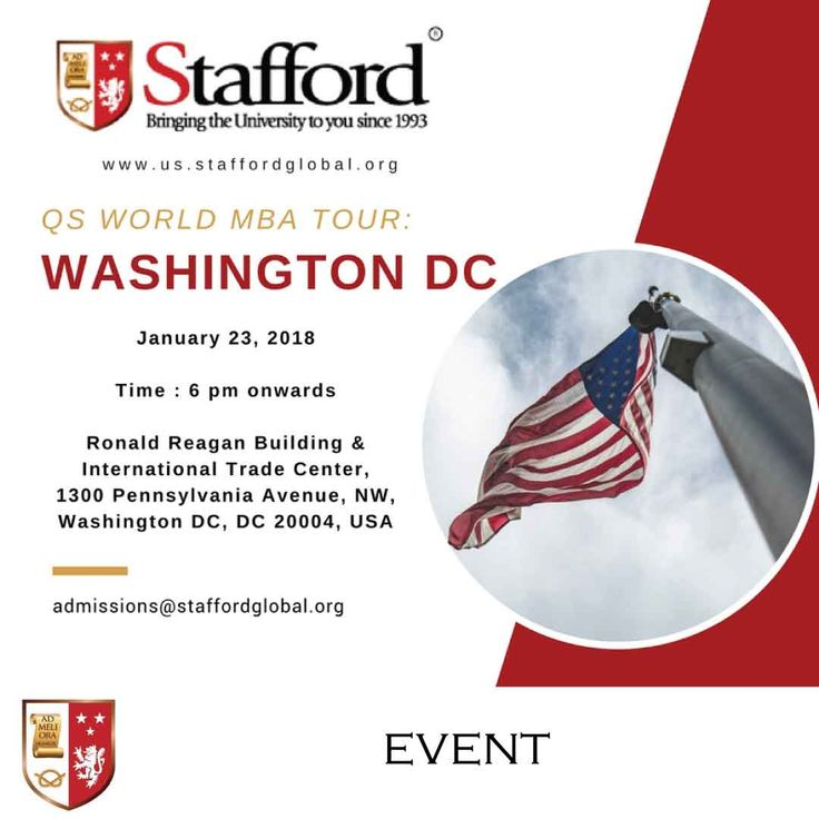 Don't worry Washingtonians. We got you!  Pursue a UK MBA Degree without leaving your work or family. We are here to assist and guide you in enrolling with the University of Aberdeen - a top ranked UK institution with an innate history of providing exceptional teaching and learning experiences.  It will be a pleasure to meet you on the 23rd of January, 2018 (Tuesday) at the Ronald Reagan Building & International Trade Center. See you there!   Click to register!