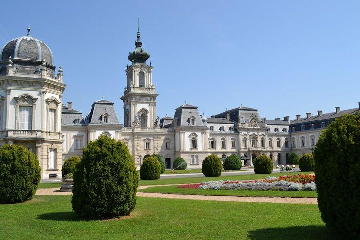 Park of Castle - Keszthely, Hungary