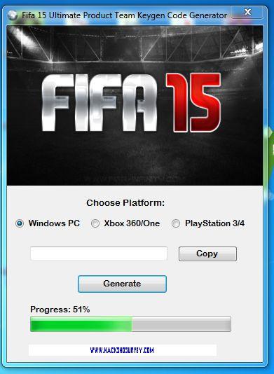 fifa 15 key generator no survey