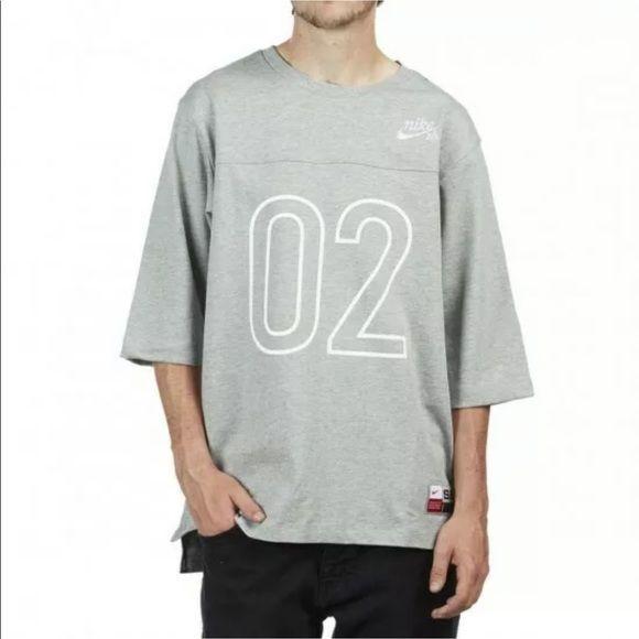 Nike SB Dri FIT Three Quarter Crew T