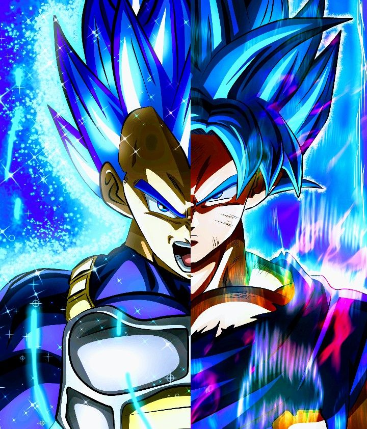 Goku Vegeta Super Saiyan God Blue Dragon Ball Wallpaper Iphone Anime Dragon Ball Super Dragon Ball Wallpapers Blue wallpaper goku and vegeta