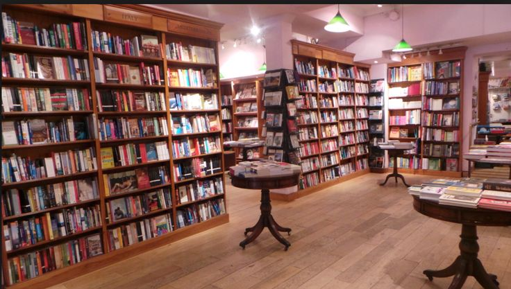 Daunt Bookshop. Independently run for twenty-five years. Known  as one of London's leading travel and literary bookshops.