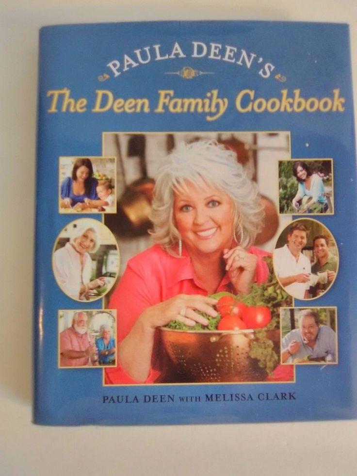 Paula Deen 2009 Hardcover Cookbook The Deen Family Cookbook Free Shipping
