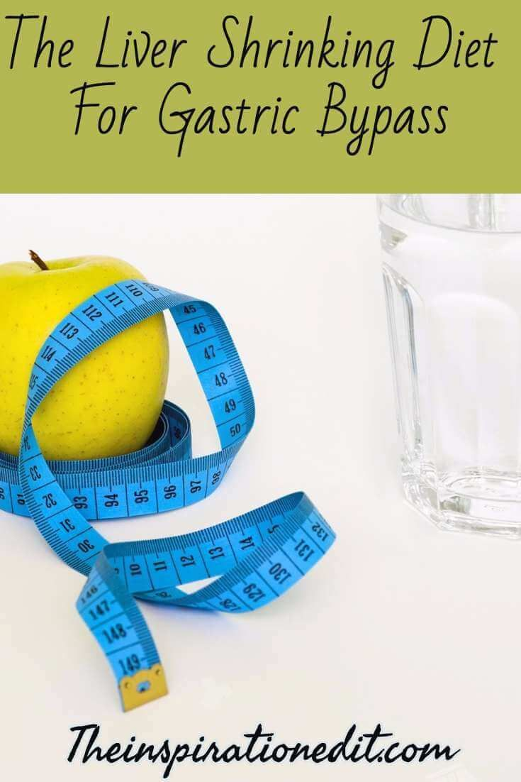 The Liver Shrinking Diet For Gastric Bypass Gastric Bypass Lifestyle