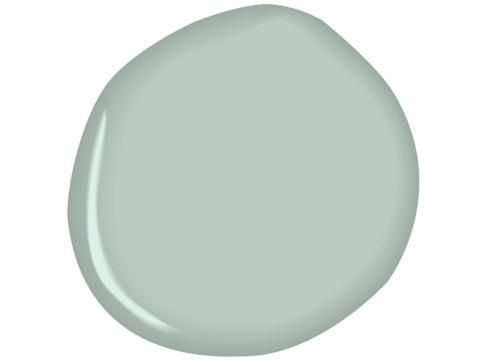 Chelsea Gray Kitchen Cabinets Wyeth Blue Walls