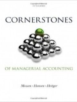49 best accounting books online images on pinterest accounting cornerstones of managerial accounting 5th edition free ebook online fandeluxe Choice Image
