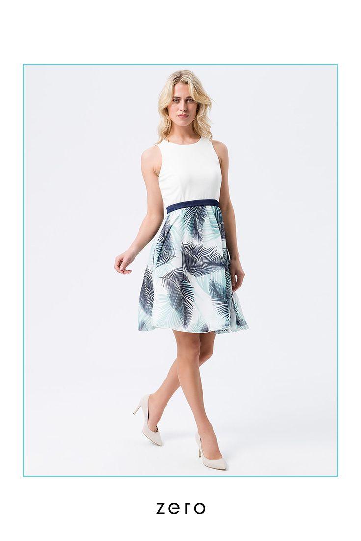 Kleid von zero  Kleider, Modestil, Retro stil