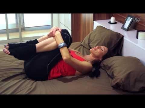 Урок 1. Йога в кровати - YouTube