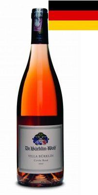 VINHO: Villa Burklin rosé 2011 VINICOLA: Dr. Bürklin-Wolf REGIÃO: ALEMANHA-Pfalz CARACTERÍSTICAS:  Rosé é um corte de diversas uvas, entre elas Sangiovese, Cabernet Franc e Cabernet Sauvignon, o que resulta em um vinho cheio de caráter
