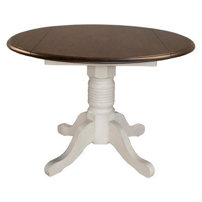 A-America British Isles 42 in. Round Drop Leaf Dining Table - AAME461