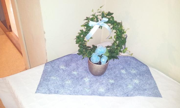 Blomst på gavebord