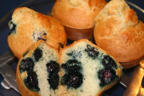 The No-Fat Blueberry Muffins Recipe from Food.com: No fat at all. This recipe adopted from the RecipeZaar account.