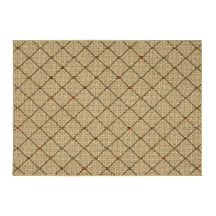 Mohawk® Home Channel Block Lattice Rug, Multicolor