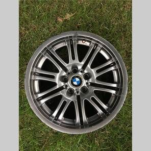 18x9 ET26 (4)  Up for sale is my square setup from my 2001 M3. The finish on these have moderate curb rash and peeling, but they have never been bent, cracked or repaired.  Asking $350.00 OBO, local pick up only, feel free to message me for inquiries.
