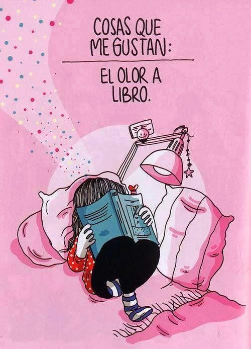 Cose che mi piacciono: l'odore di un libro.