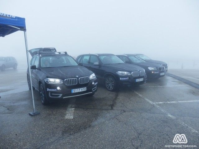 Neumáticos Michelin Alpin frente a sus homólogos de verano en BMW xDrive. #Eventos #AurigaCoolMarketing #SierraNevada #StreetMarketing