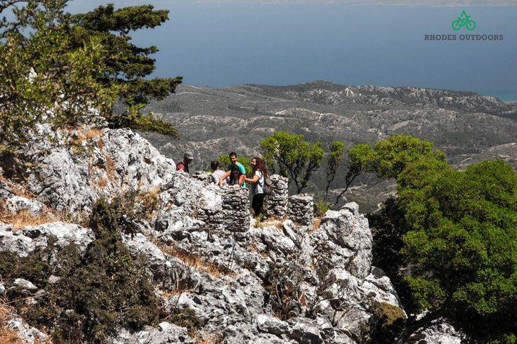Pr Ilias 798m. Height Rhodes isl. #RhodesOutDoors