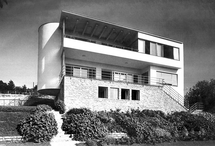 Lajos Kozma - Magyar Villa in the Berkenye street 1937