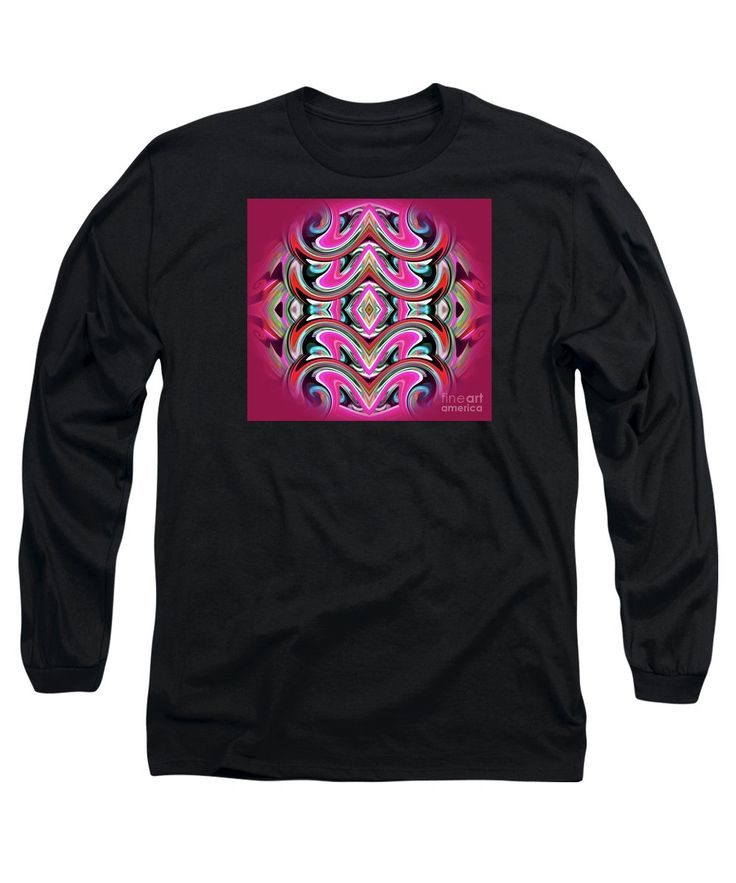 Sphere Long Sleeve T-Shirt featuring the digital art W.m.sphere by…