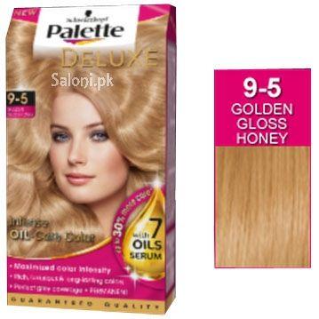 Schwarzkopf Palette Deluxe Intensive Oil Care Color Golden Gloss Honey 9-5