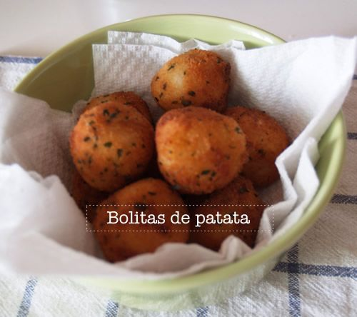 Receta de bolitas de patata fácil « Cocinar para niños