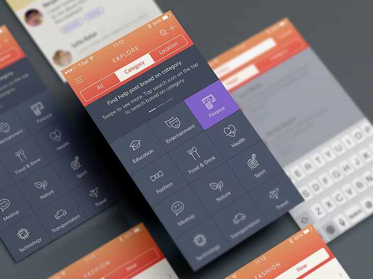 Category Page - by Bady | #ui