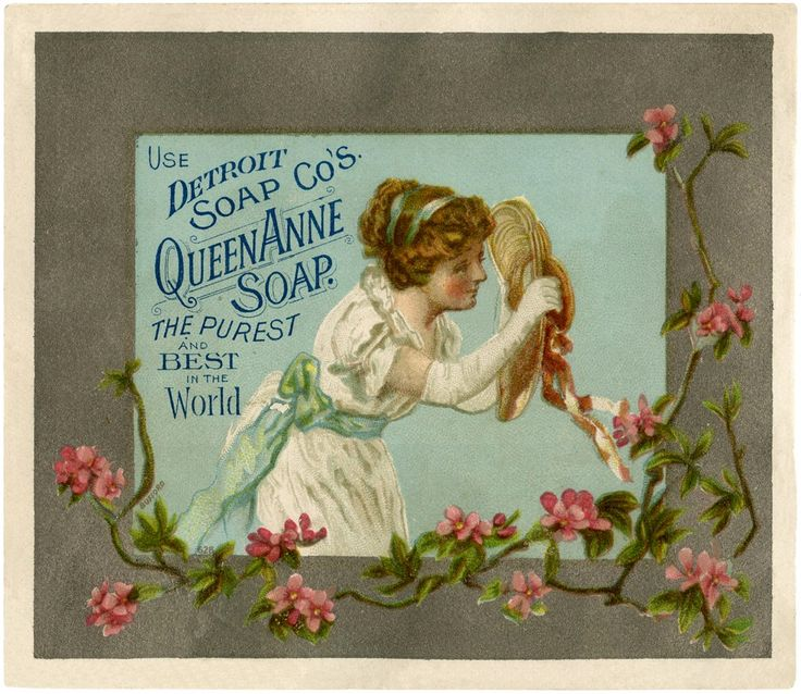 Old Soap Advertising Image! - The Graphics Fairy #vintage #images #yankeemade
