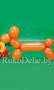 Собачка - базовая модель скручивания из воздушных шариков