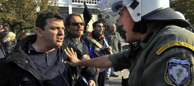 Greece people are very ungry. The finish of real democracy.  http://www.mypinkadvisor.com/actualidad-los-griegos-derrumban-el-bipartidismo-y-deslegitiman-los-recortes/