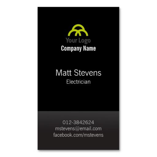Best Construction Business Card Templates Images On Pinterest - Electrician business cards templates free