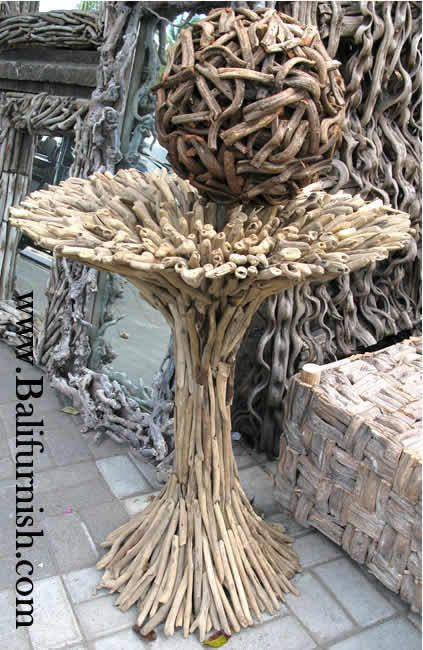 DRIFTWOOD FURNITURE FROM BALI INDONESIA · Driftwood FurnitureDriftwood  CraftsDriftwood IdeasWooden ...
