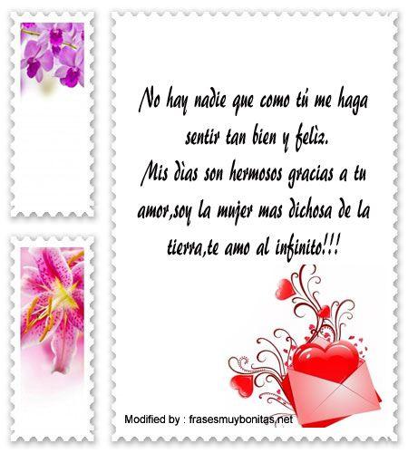 originales mensajes de romànticos para mi novia con imágenes gratis,buscar palabras de amor para mi enamorada: http://www.frasesmuybonitas.net/frases-de-amor-para-sms/