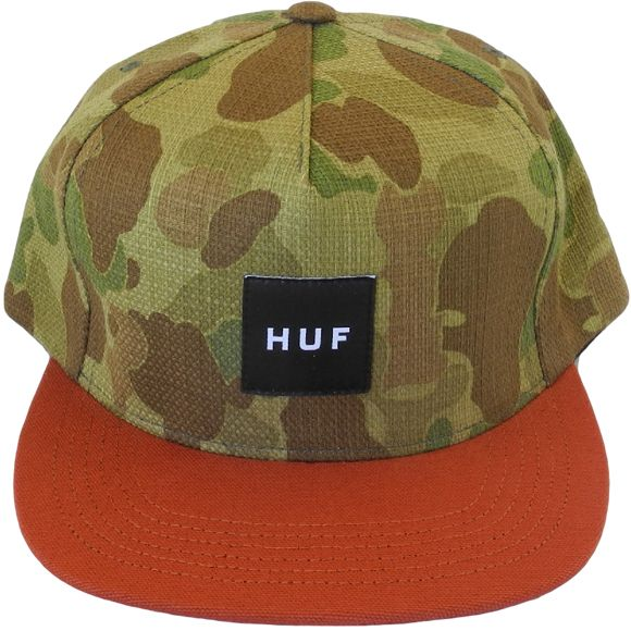 HUF Japanese Duck Camo/Orange Snapback