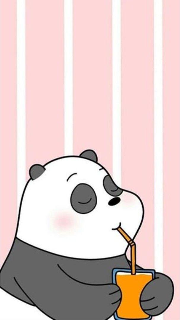 Pin By Elizabeth Corona On Disenos Bear Wallpaper We Bare Bears Wallpapers Cute Panda Wallpaper