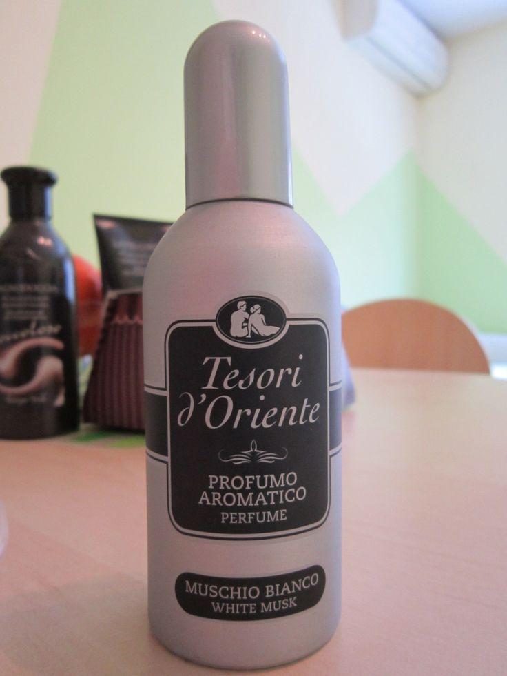White musk perfume by Tesori d'Oriente.
