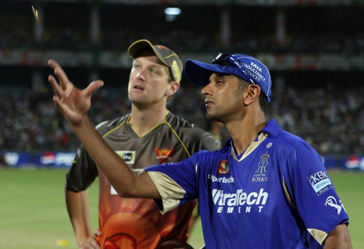 Rajasthan Royals progressed to the second Qualifier after they defeated Sunrisers Hyderabad by four wickets in the eliminator at the Feroz Shah Kotla Stadium in Delhi. Brad Hodge (54*) sealed the match with two massive sixes as RR reached the target with four balls remaining.