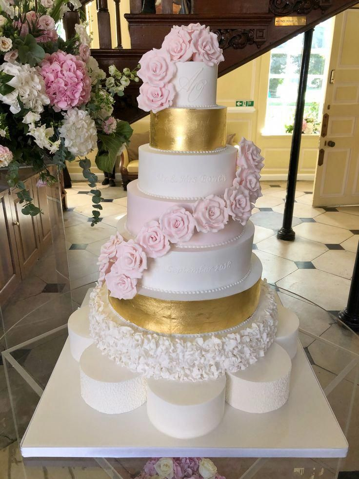 Wedding Cakesalways And Forever Wedding Cake Topper Gold