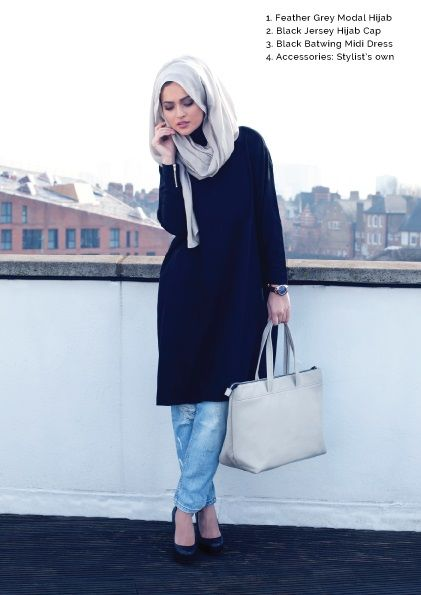 INAYAH Street Look | | #Hijab #hijabifashion |