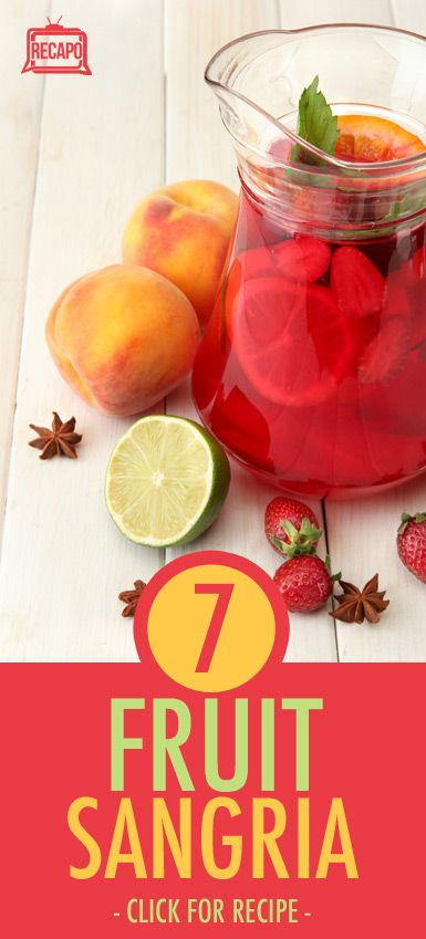 The Chew: Stone Fruit Sangria Recipe & Ana Quincoces' The Whammy