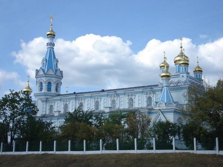 Daugavpils, Latvia St Boris and Gleb Orthodox Cathedral Must visit!!!  www.combobeds.com