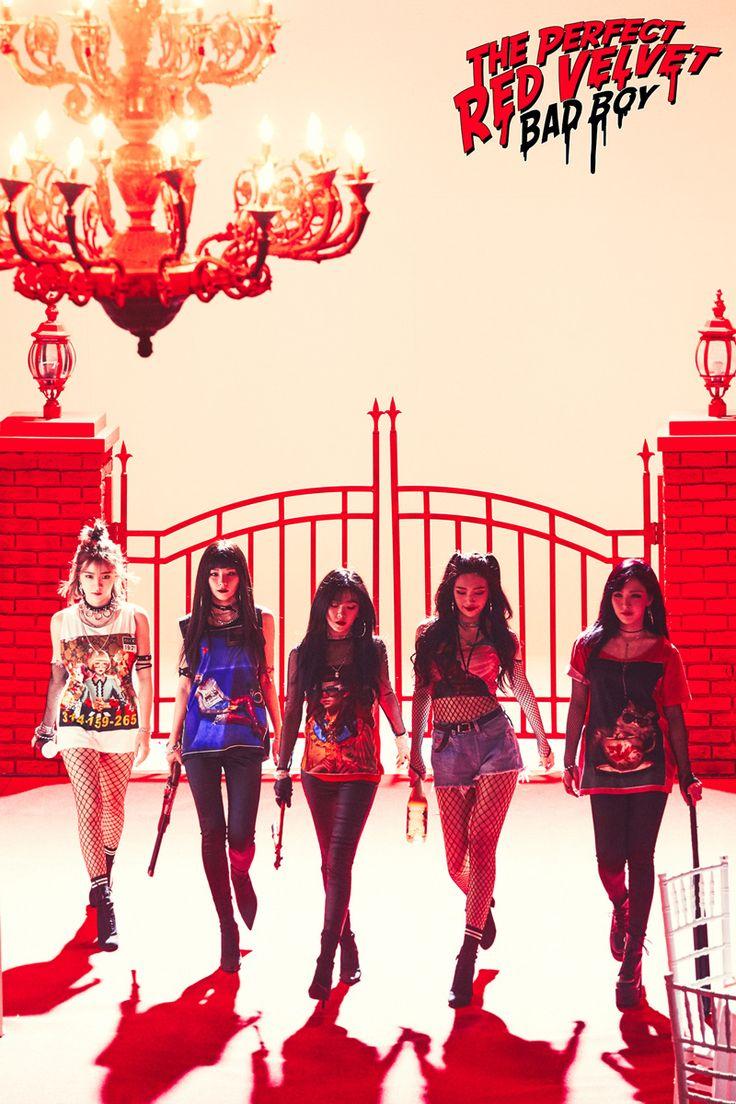Yeri, Seulgi, Irene, Joy and Wendy
