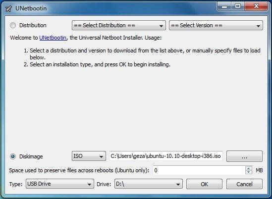 UNetbootin 6.25 for Mac UNetbootin allows you to create bootable Live USB drives for Ubuntu, Fedora, and other Linux distributions without burning a CD. It runs on Windows, Linux, and Mac OS X. You can either let UNetbootin download one of the many distributions supported out-of-the-box for you, or supply your own Linux .iso file. #computers #software #freeware