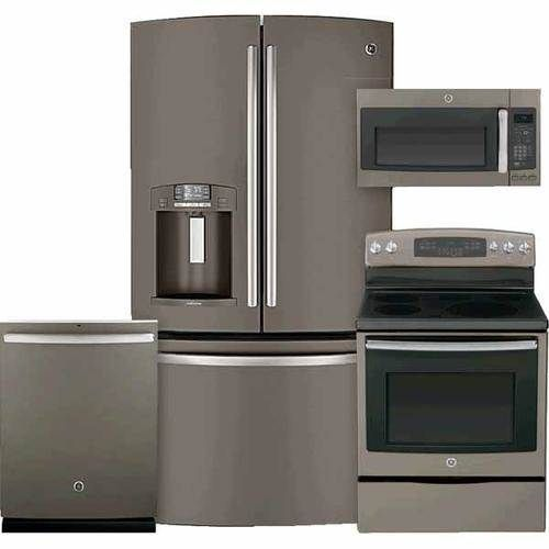 The 25 best slate appliances ideas on pinterest black for Slate appliances with white cabinets