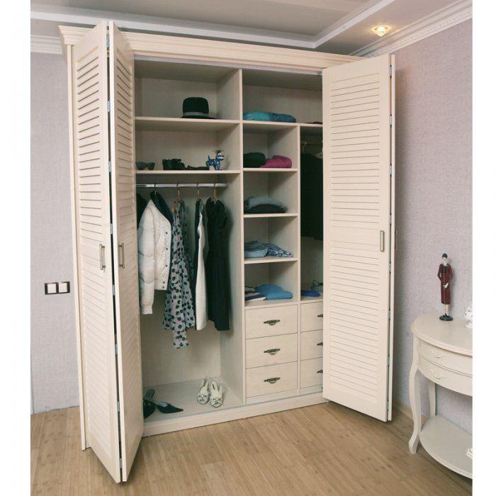 Картинки по запросу гардеробная с дверью гармошкой