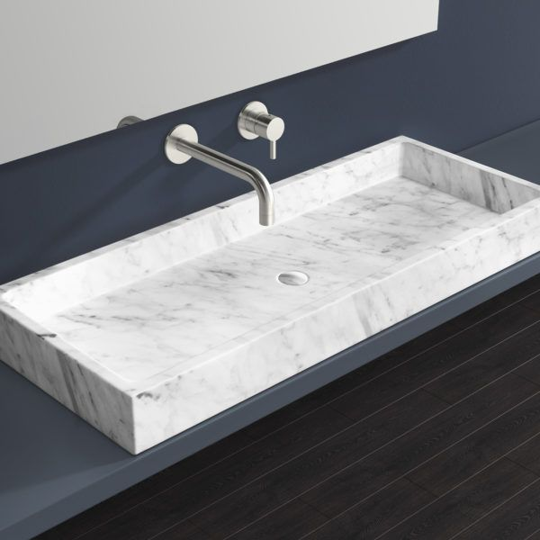 White Marble Countertop Sink Mwb 01 Xl White Marble Countertops