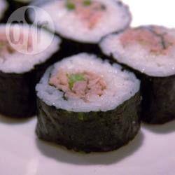 Tinned Tuna Sushi @ allrecipes.com.au