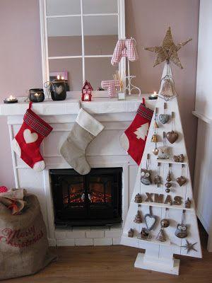 M s de 25 ideas fant sticas sobre rboles de navidad de for Como tratar un tronco de madera para decoracion