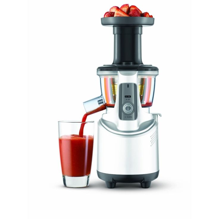 Breville juicer, one of the better brands. Looks like a space ship too!