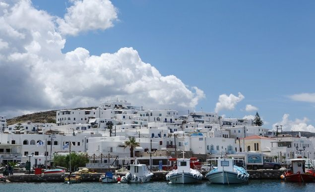 Greece's Cyclades islands have a reputation for perfect beaches, fresh seafood%u2014and an Olympian price tag. But BT's photo editor discovered a down-to-earth (and affordable!) vibe on the islands of Paros and Santorini. (From: A Greek Island Vacation You Can Afford!)